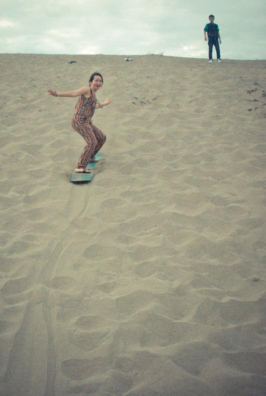 La Paz, Ilocos Norte, Sandboarding