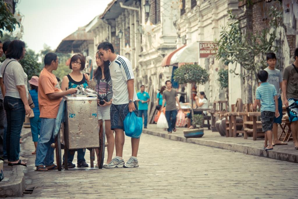 Calle Crisologo, Vigan, Sorbetes