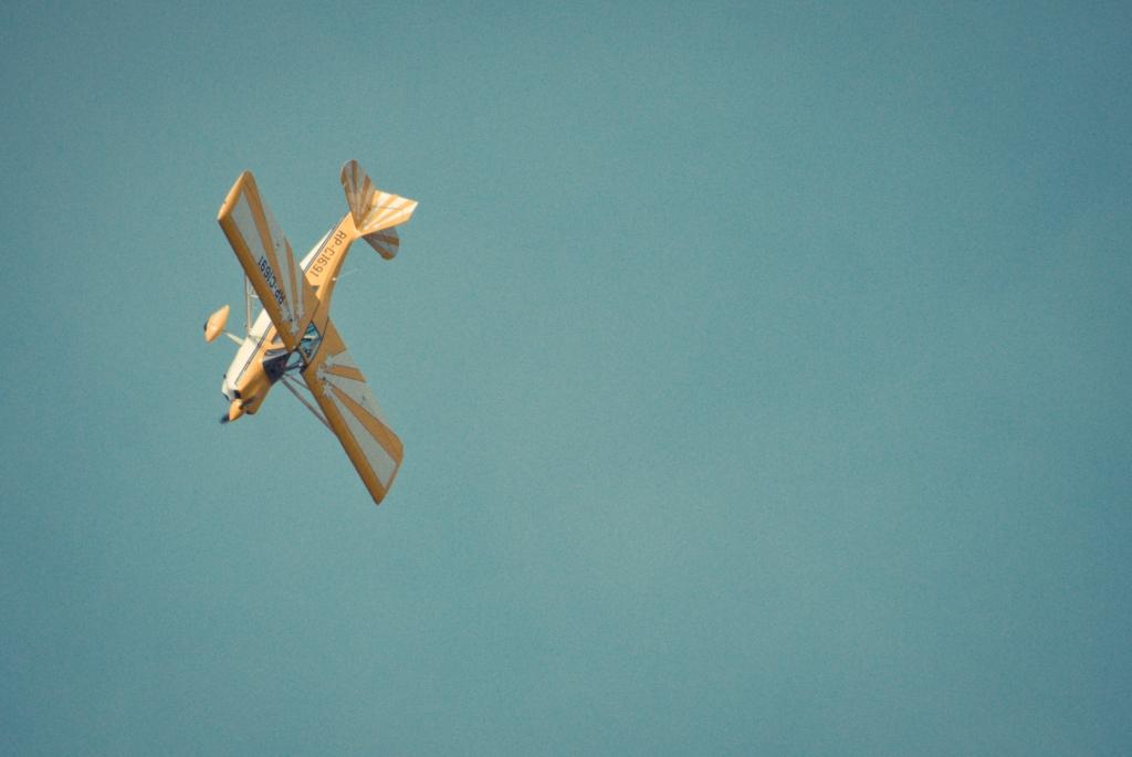 Clark, Hot Air Balloon, Acrobatic, Plane, Bellanca