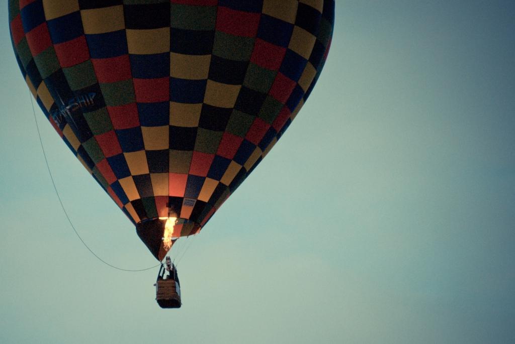 Clark, Hot Air Balloon