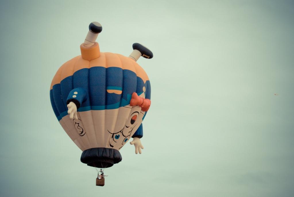 Clark, Hot Air Balloon,