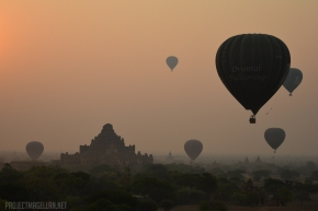 Bagan, Mandalay, Myanmar, Burma, Stupa, Temple, Pagoda, Buddhism, Hot Air Balloon, Motorcycle, E-bike, Puppet, Puppetry, Thanaka